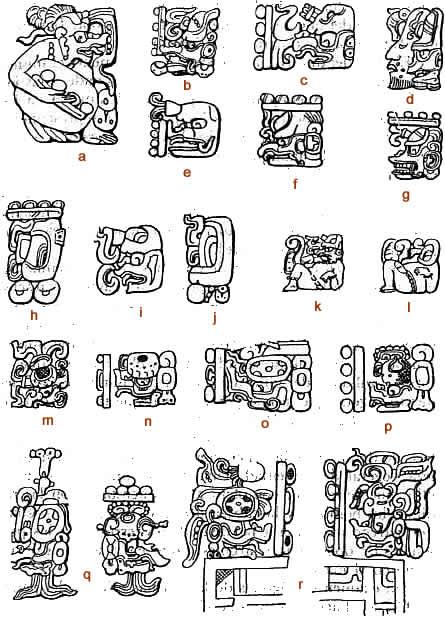 Dibujos De Simbolos Mayas Y Su Significado Imagui
